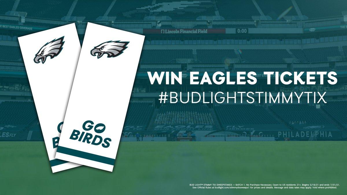 @Eagles's photo on #BudLightStimmyTix