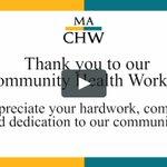Image for the Tweet beginning: #CHWs = #EverydayHeroes who work
