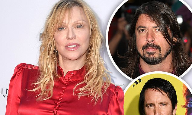 Courtney Love apologizes after tirade against Dave Grohl and Trent Reznor Photo