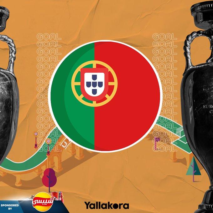 86 جووووووول رونالدو يسجل هدف البرتغال