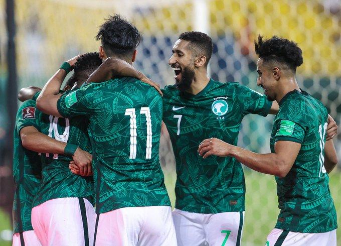 RT : 🟢 رسميًا |المنتخب السعودي يتأهل للدور