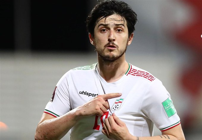 منتخب ايران يحقق الفوز على العراق بنتيجة 10
