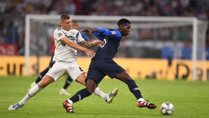 | هذه المواجهة السابعة بين فرنسا  وألمانيا