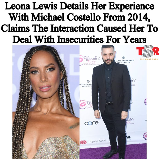 Leona Lewis accuses Michael Costello of bullying: I was so humiliated Photo