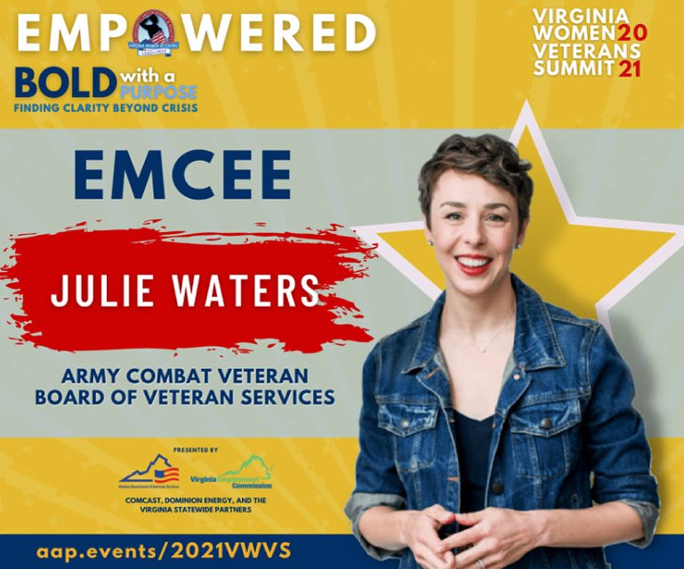 @VaVeteransSvcs Virginia Women Veterans Summit is next week! I'll be in-studio to serve as emcee of this awesome, 2-day event. Details to register are below! #veterans #womenveteransday https://t.co/gg1golNIqx https://t.co/cgwzsXvT2t