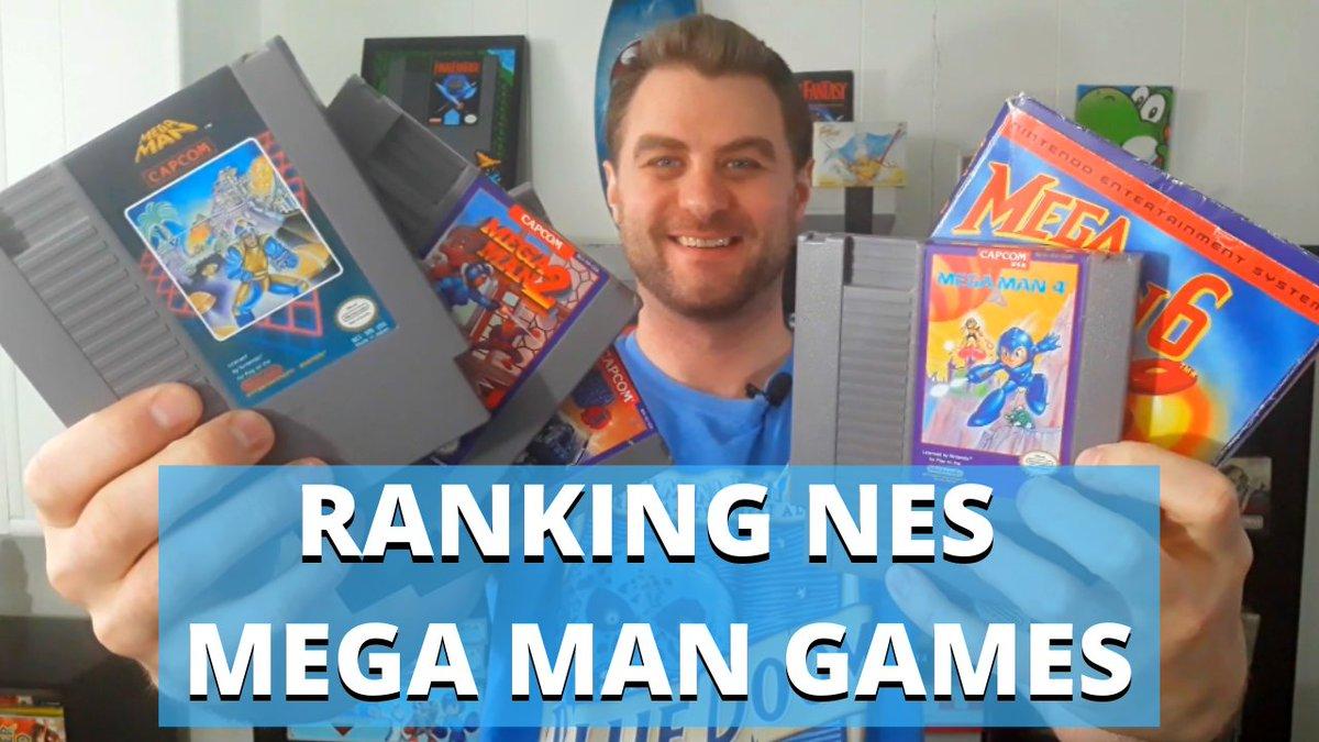 RT @NerdProbReviews: NES Mega Man Games Ranked   See The Full Video Here:  https://t.co/yfksXE7CAK  #gaming #gamer https://t.co/Jq2FulumdG
