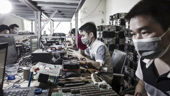 China is kicking out more than half the world's bitcoin miners – and a whole lot of them could be headed to Texas Photo