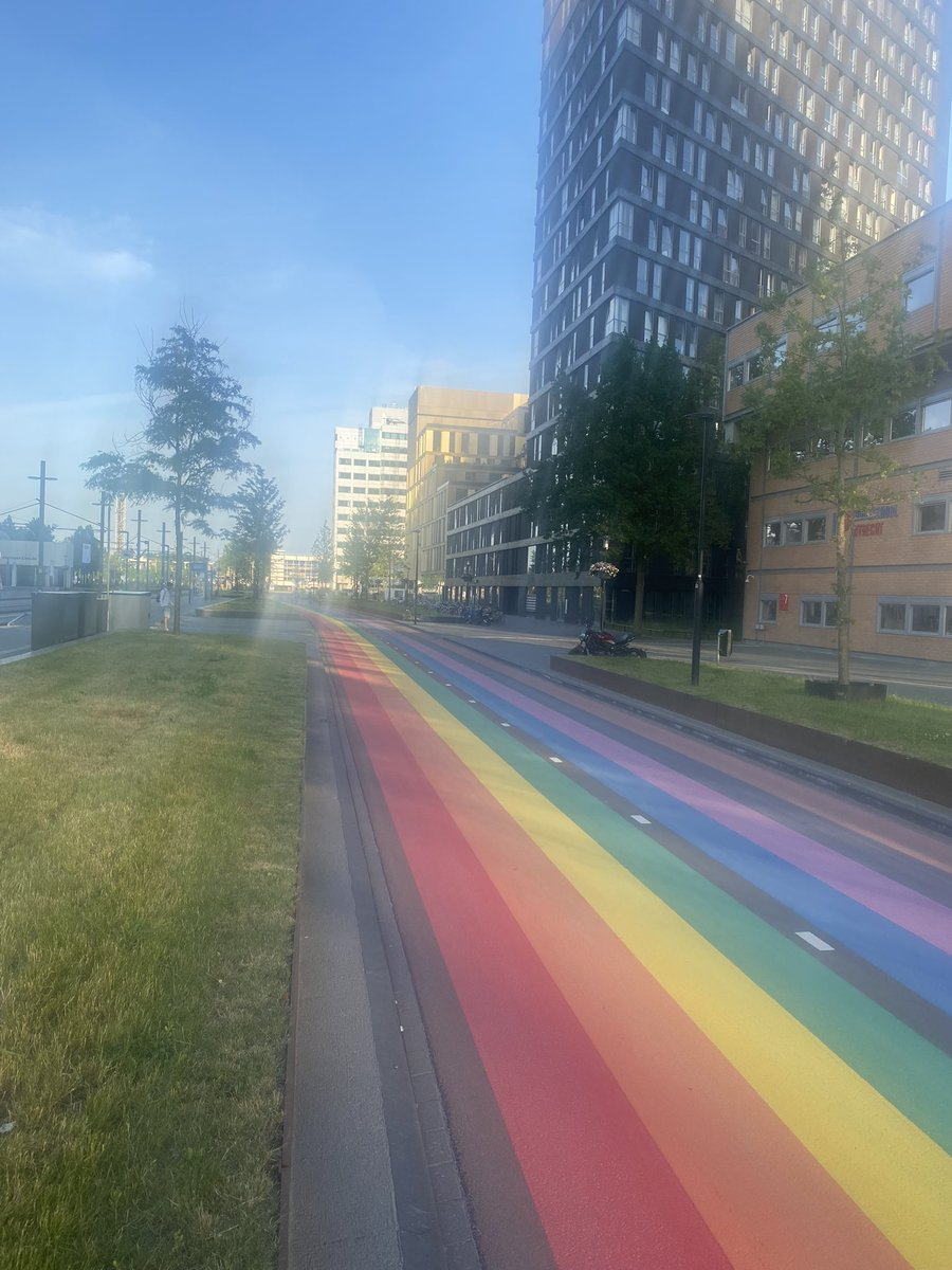 Diversifying my evening run @UtrechtUni