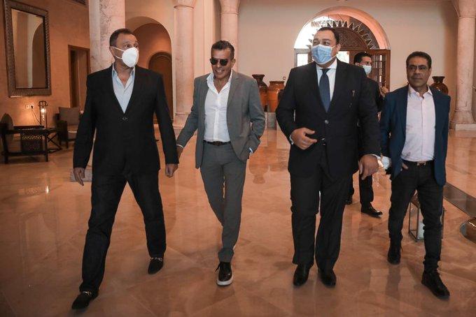 وصول بعثة الأهلي إلى فندق الإقامة بتونس قبل