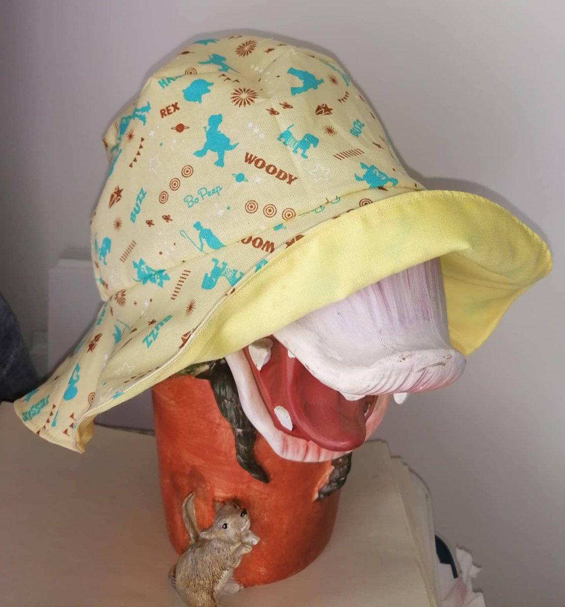 #toystory #sunhat #HandmadeInUK #worldwideposting #SmallBusiness #handmade #sewing #cotton https://t.co/mmjgjUBEi3