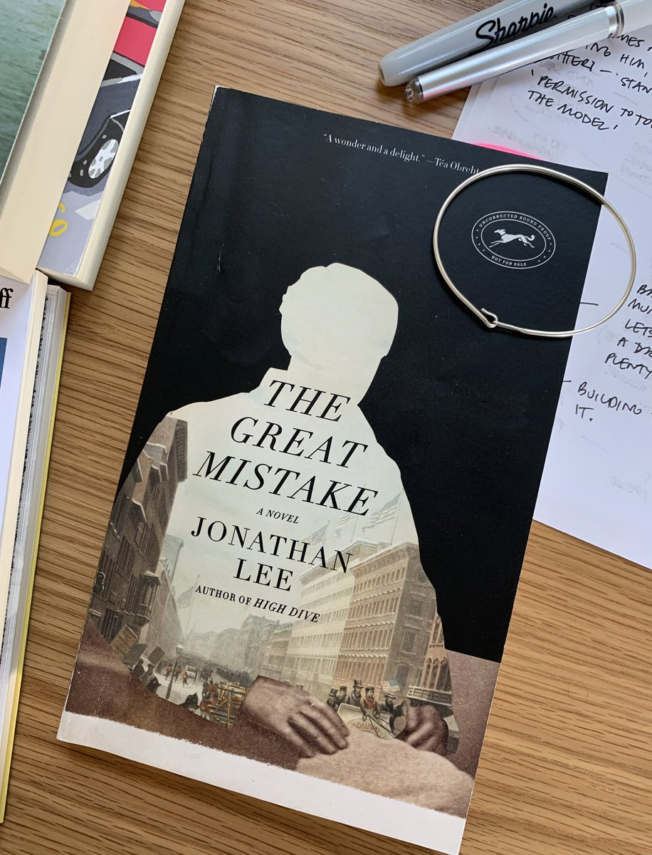 Happy publication day to this rare gem. I'm still a few pages from the end but I am absolutely loving it. A beautifully crafted novel about the public life and private desires of one of New York's greatest men. 🏆 @JonLeeWriter https://t.co/z6502gpY13