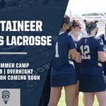Image for the Tweet beginning: 🚨First ever lacrosse camp at