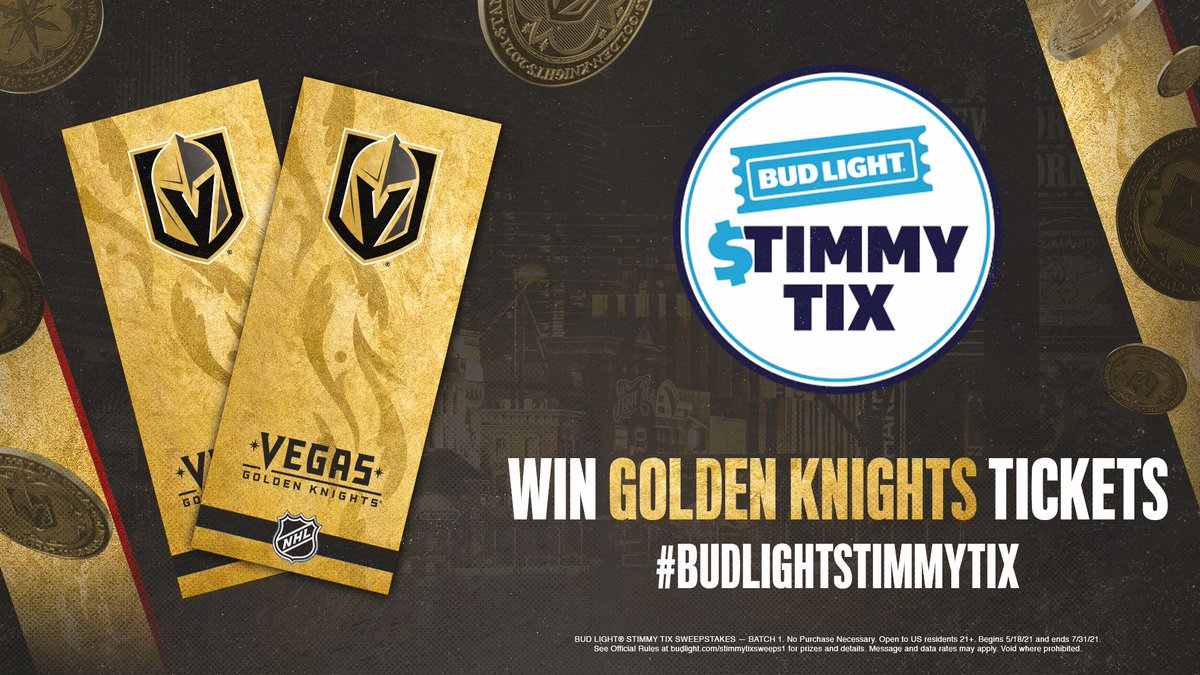 @GoldenKnights's photo on #BudLightStimmyTix