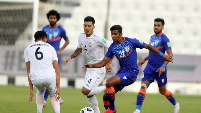 Asian Cup qualifiers: India draw 1-1 vs Afghan, advance to next round Photo