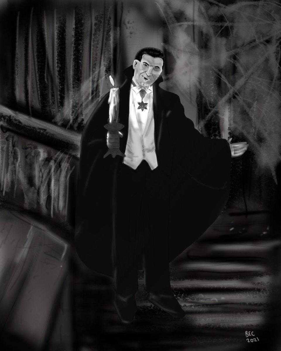 Creatures of the night, what music they make... #BelaLugosi #Dracula #haunted_collective #kleineKunstklasse https://t.co/bA9KslA84H