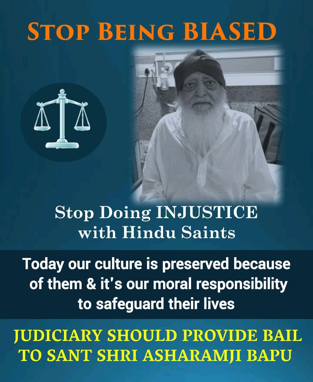 Justice for Bapuji Photo,Justice for Bapuji Twitter Trend : Most Popular Tweets