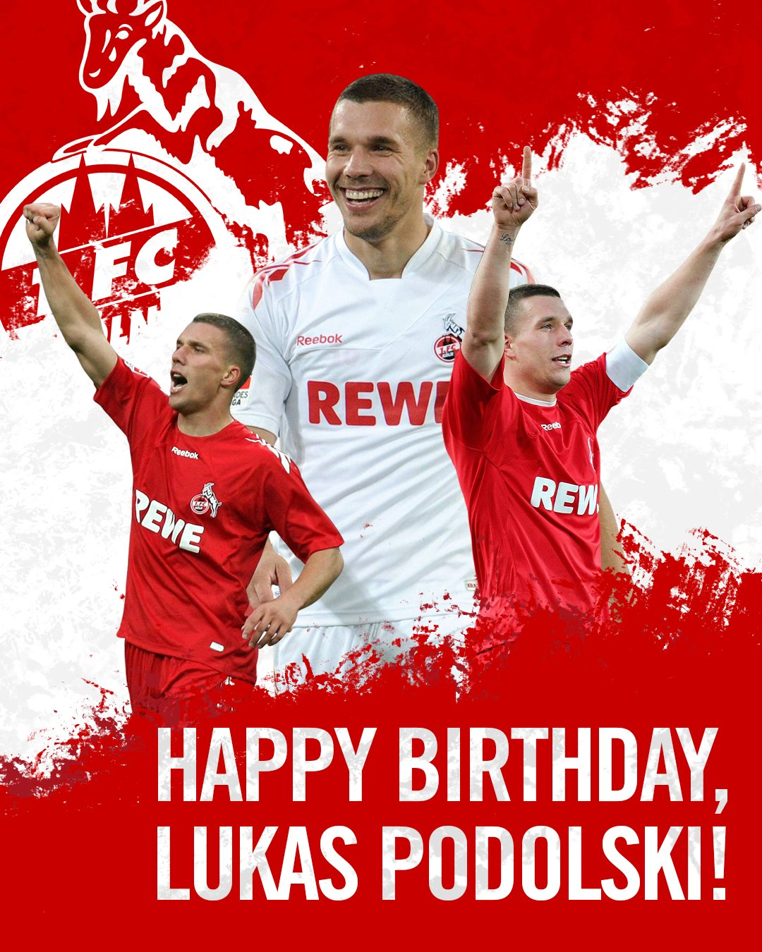 Happy birthday to the Prince  legend turns 36 today. Have a good one, Poldi!