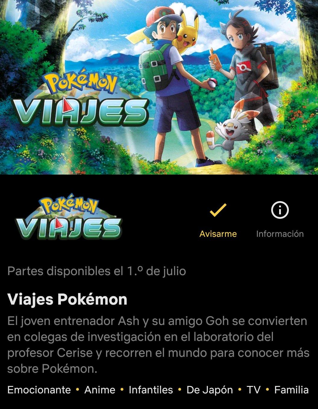 Viajes Pokémon Temporaa 23 Netflix