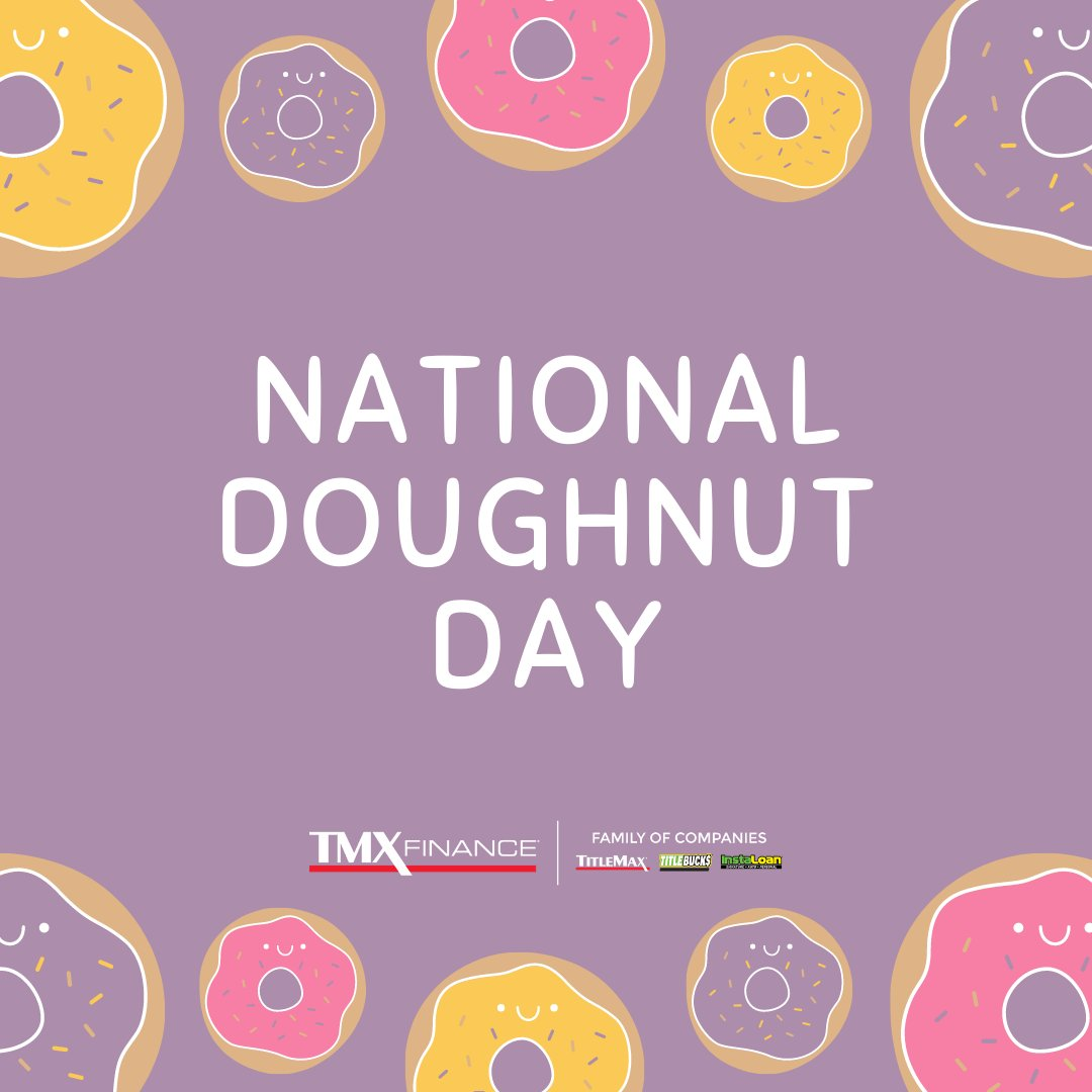 Happy #NationalDoughnutDay! What is your favorite kind? 👇👇👇 https://t.co/gET9xGwvRm