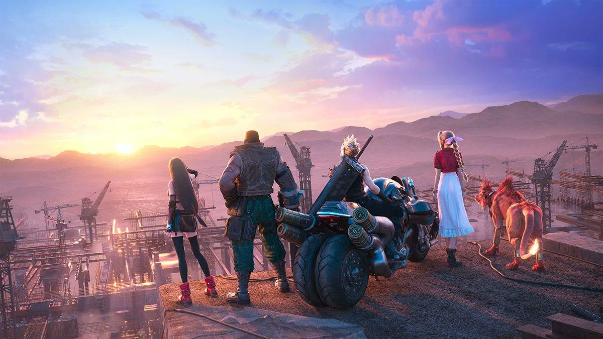 Key art of Final Fantasy 7 Remake intergrade