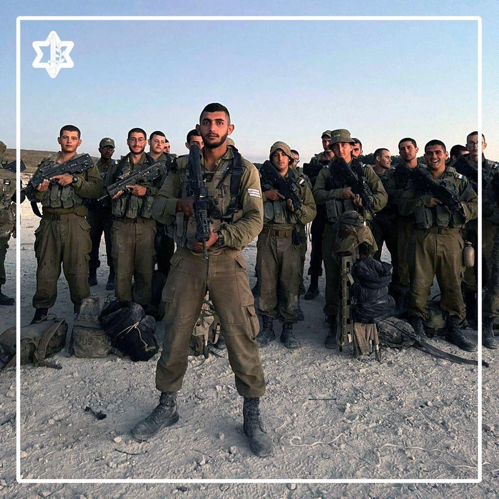 كمواطن عربي إسرائيلي أخدم في لواء جولاني، أشعر بالفخر لأني أقوم بتأدية مهمة سامية، فمن القرآن استقيت حب الوطن