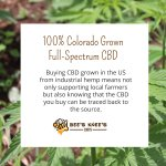 Buying CBD grown in the US from industrial hemp means not only supporting local farmers but also knowing that the CBD you buy can be traced back to the source. #hempoilextract #cbdoil #cannabidiols #cbdhelps #nationaldonutday https://t.co/FmCdt67AXW