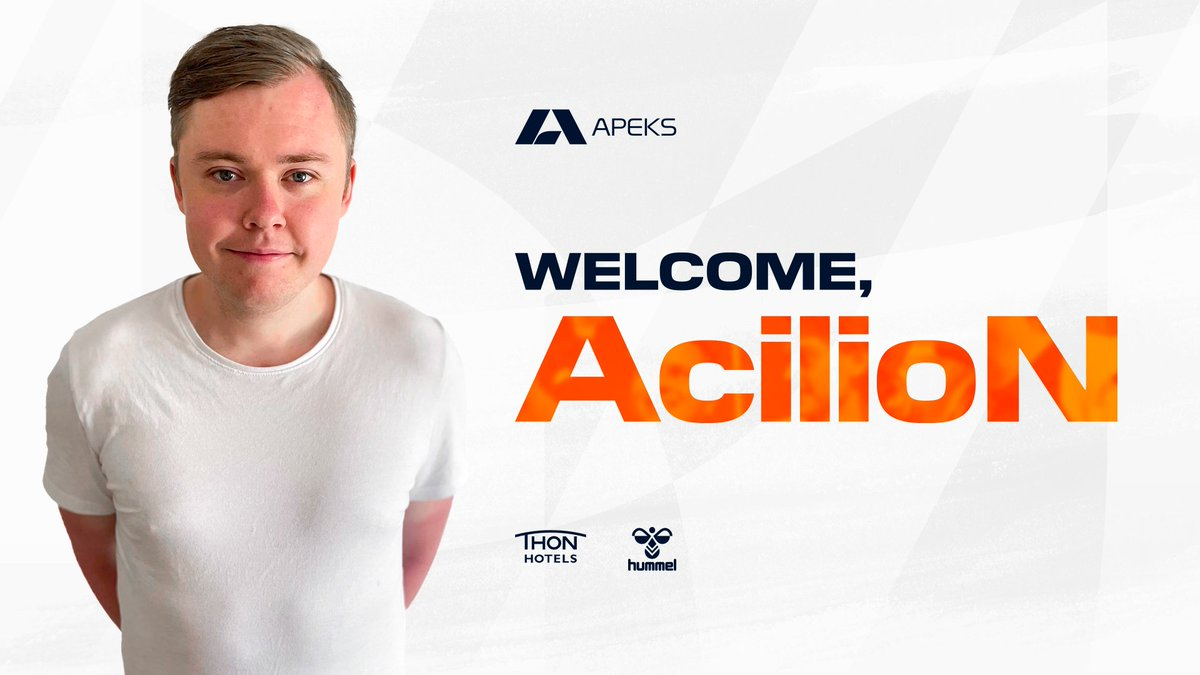 Big thank you to @kreazCS for being a true professional in a difficult time the last few weeks, hopefully he finds a team where he can play to his strenghts asap!  Now I can't wait to get to work with @AcilioNcs and reach new levels with this squad! @apeksgg