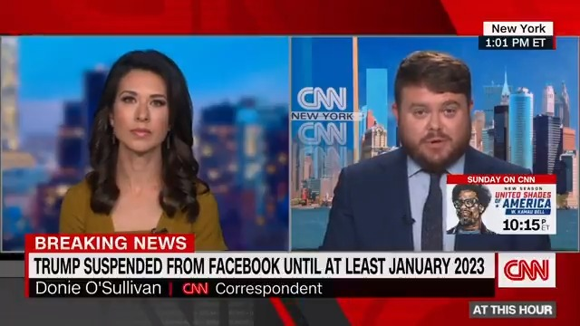 Facebook has announced that former President Donald Trump would be suspended from its platform until at least January 2023 — two years from when he was initially suspended. https://t.co/0W54cCmzuS https://t.co/JcFS1iTvAI