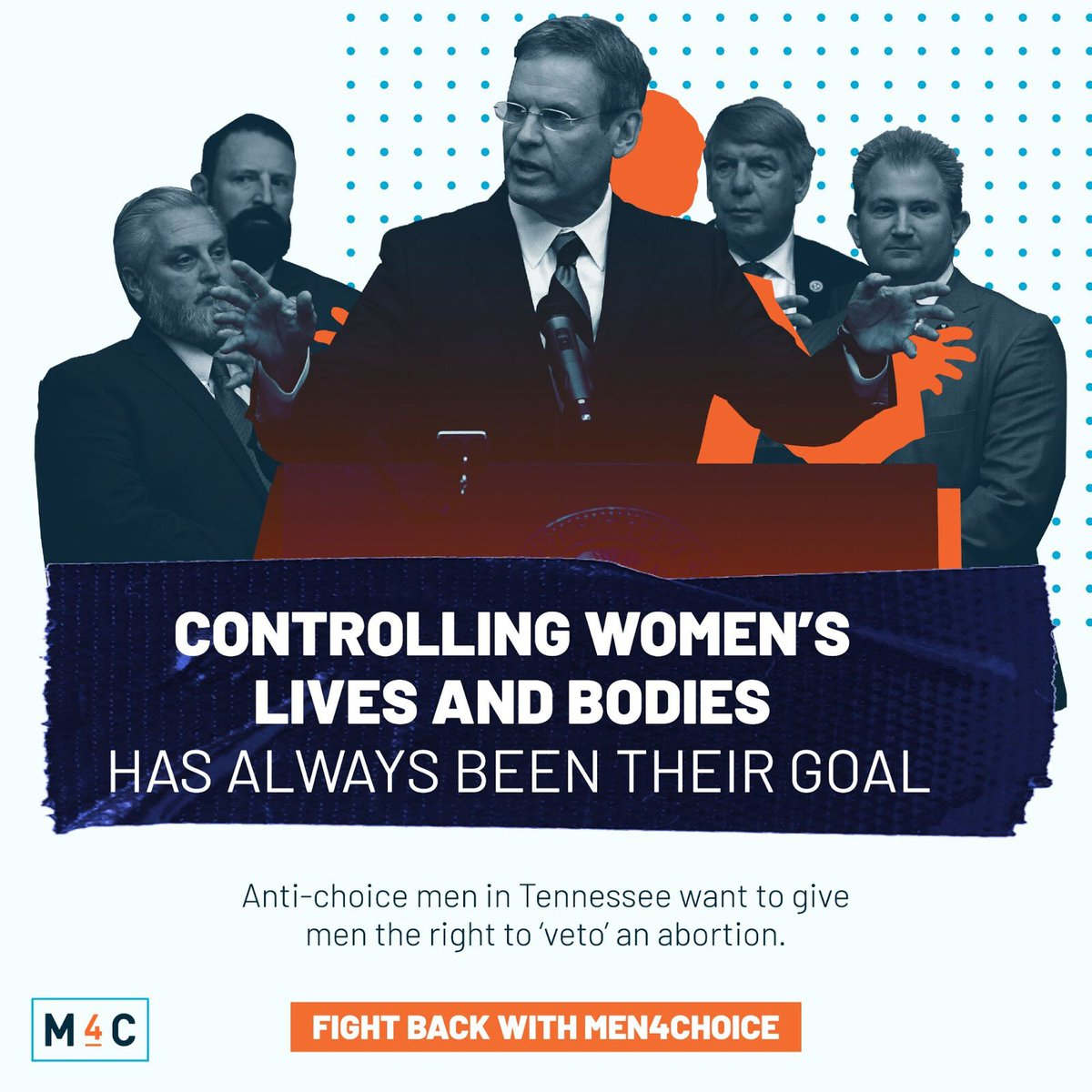 There are men in America using their power to rob people of the right to control their own bodies.   The rest of us, those who support the right to choose & access to abortion, must step up.  Men should NOT hold DOMINION over other people's lives.  #ControlIsTheirGoal https://t.co/JIpoTRaQCM