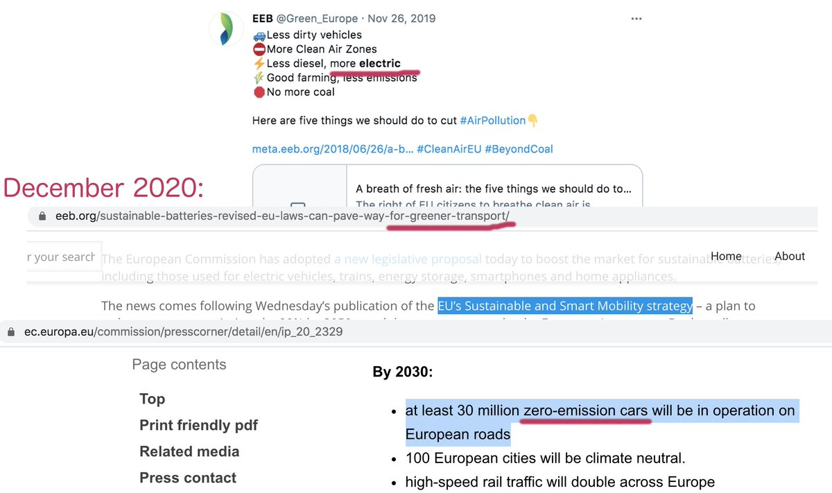 """Who enjoys doing ecocide and promotes car culture?Billionaires For Future again? Hmmm...The new trend now -> they show fierce """"fight"""" with mining while promoting it all the time and putting in official documents and strategies.Green transport or lithium transport? Hmmm..."""