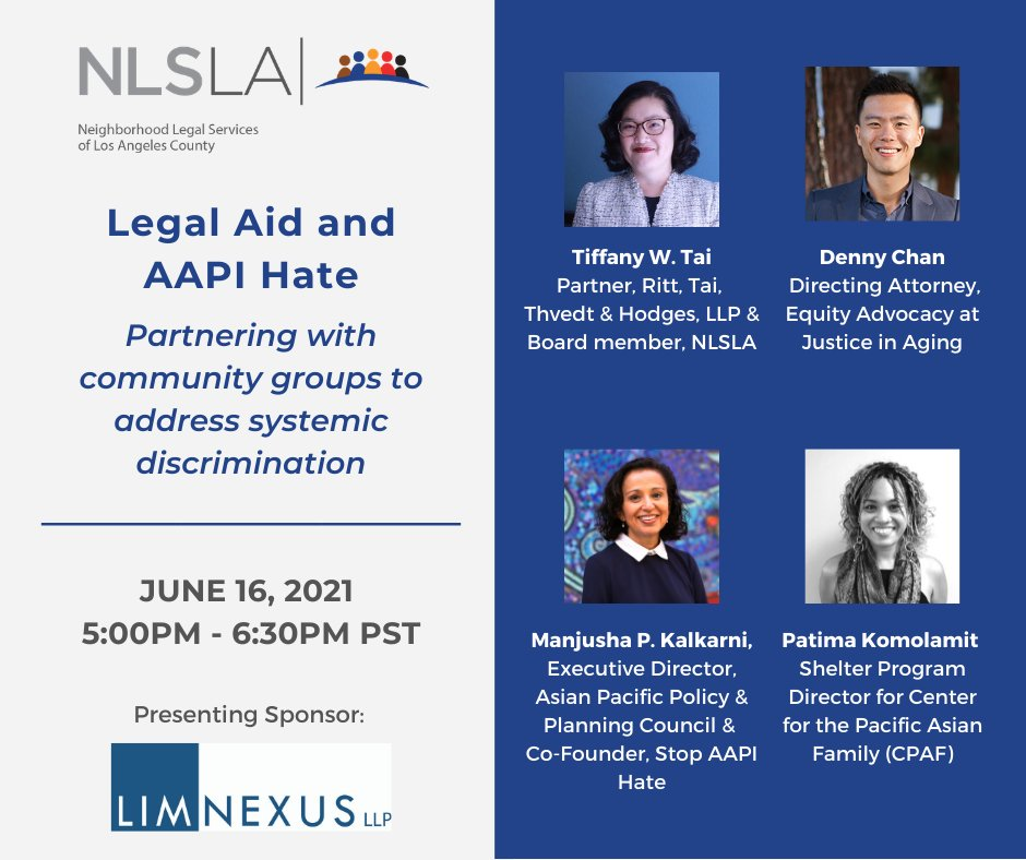 Hate, bias, and discrimination aimed at the AAPI community is not a new phenomenon. Join us on June 16th to discuss how to improve outreach to AAPI communities and how to partner with community organizations. https://t.co/KwRuJQQ2YB https://t.co/io54dnIDvj
