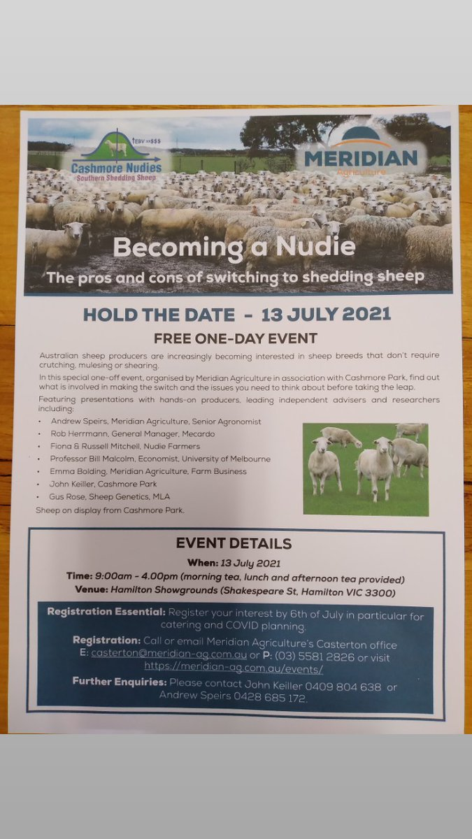 Come and listen to industry leaders views about shedding sheep regards Johno K