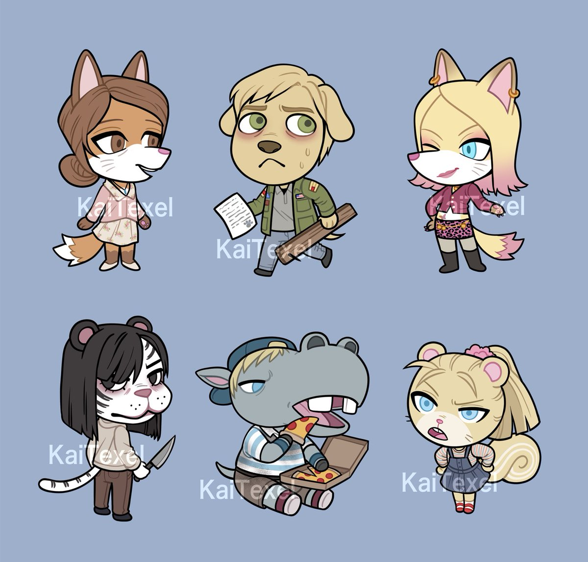 RT @Kai_Texel: Animal Crossing x Silent Hill 2! Kinda sad I finished this so quickly... I was looking forward to it! https://t.co/gVpch8uyRy