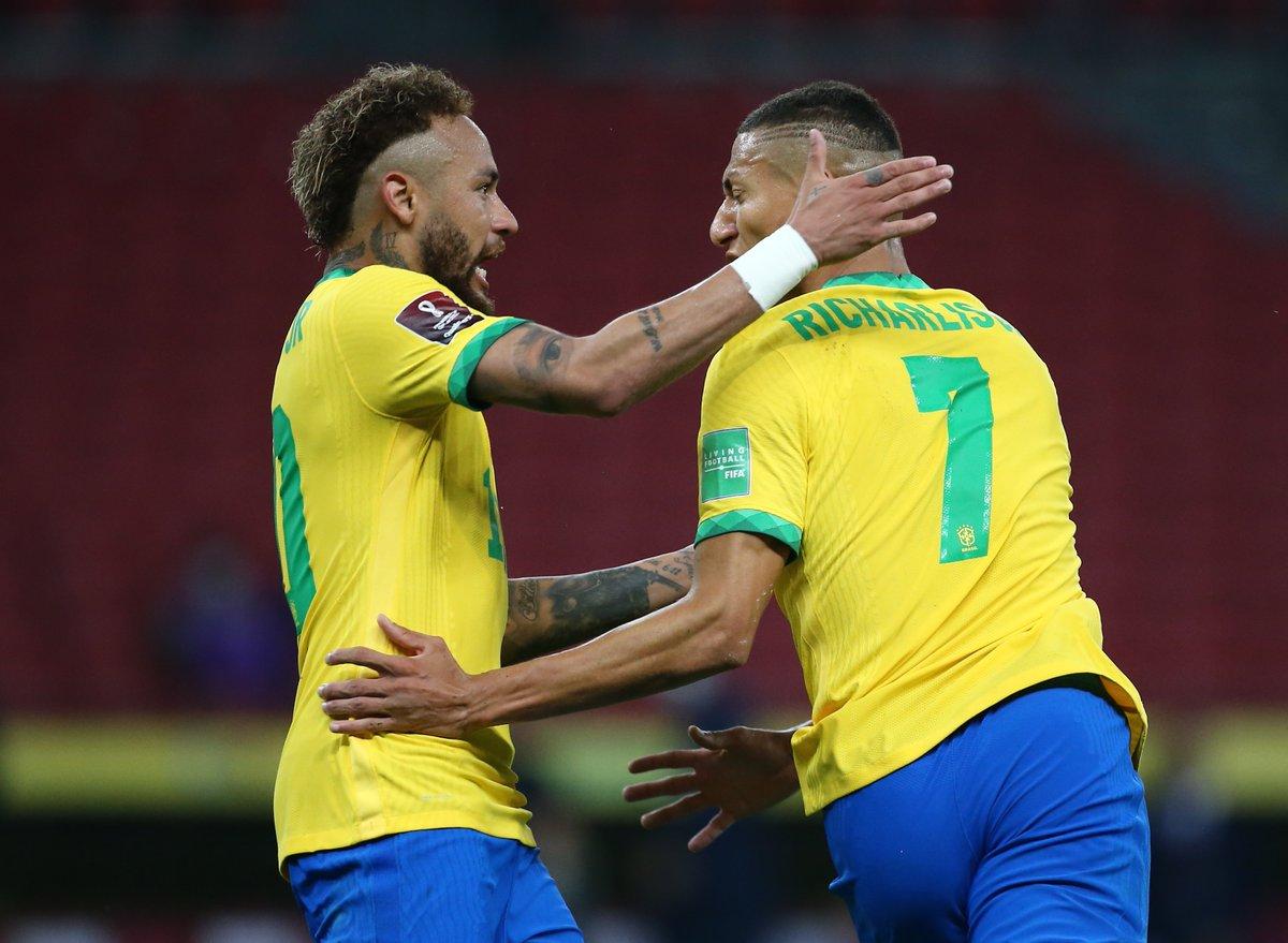 ไฮไลท์ฟุตบอล ฟุตบอลโลก 2022 รอบคัดเลือก บราซิล - เอกวาดอร์