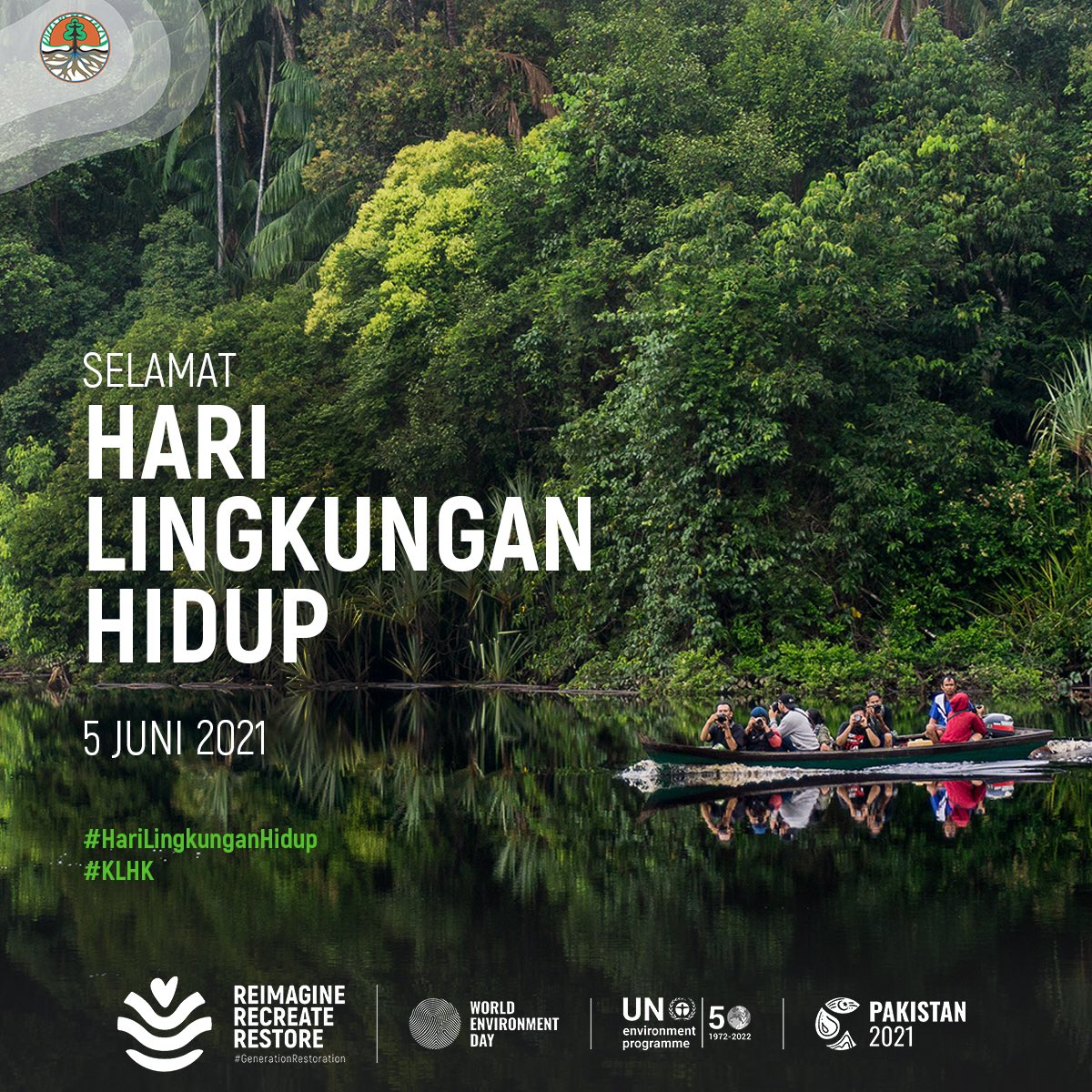 Ilustrasi Hari Lingkungan Hidup Sedunia.