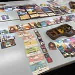 Image for the Tweet beginning: ブルームーンシティ マフィアNo.5 パークス拡張入り イッツァワンダフルワールド拡張入り ボーストオアナッシング ラマダイス  ほぼ初めてのゲームで大満足。 イッツァワンダフルワールド、拡張で明らかに尖ったカードが増えて面白かったです  #うちボド