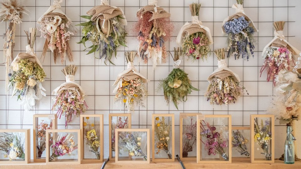 表参道・Tida Flowerが素敵!360度お花に囲まれた夢のようなドライフラワー屋さんに注目!