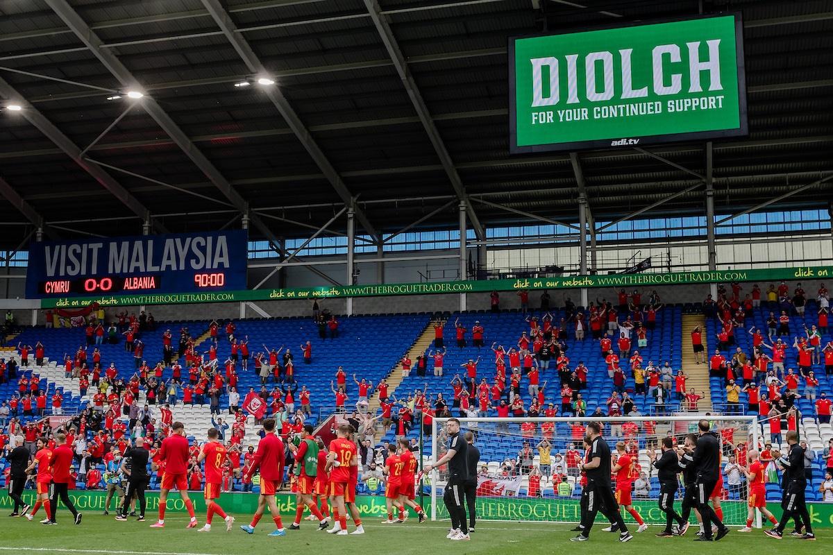 Replying to @Cymru: DIOLCH  #TheRedWall 🏴   #WAL   #EURO2020