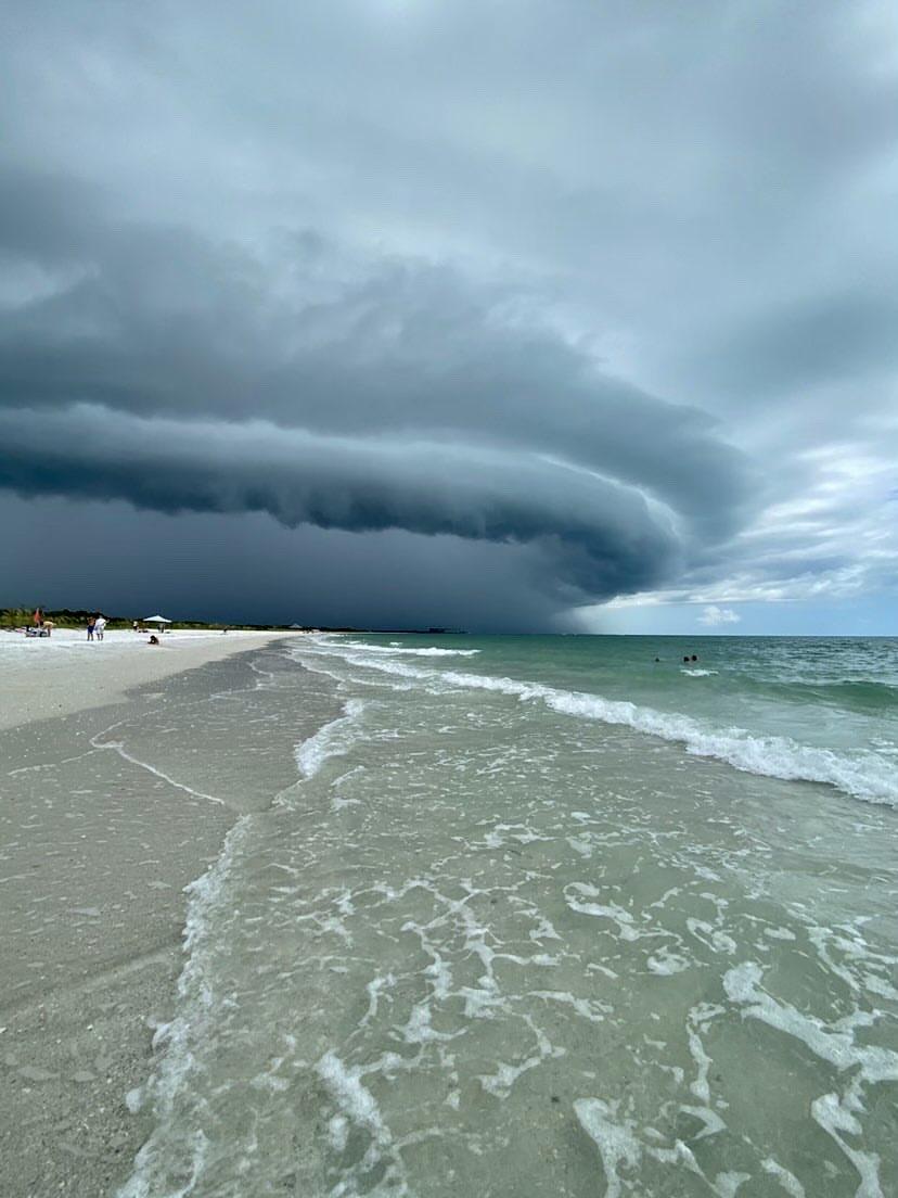 #Arcus en #Floride hier après-midi ! #flwx #shelfcloud