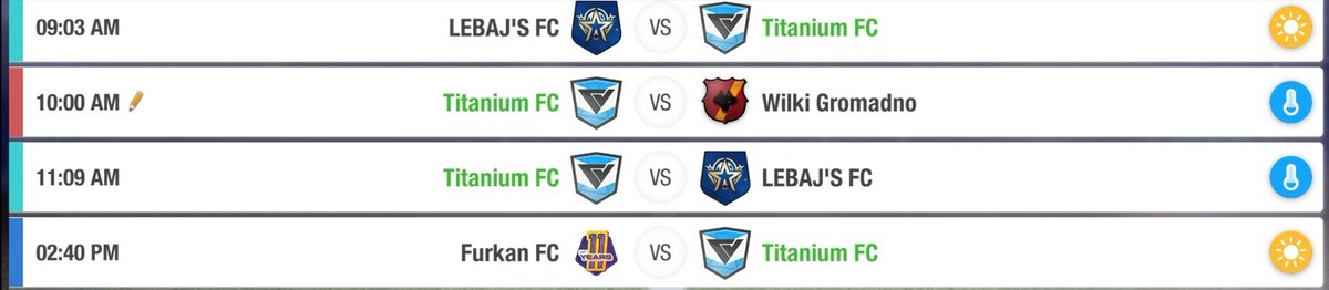 Our schedule for Sunday. Get your tickets at our stadium booths or online at our website! 👏 #TopEleven https://t.co/YlLVFAl2On