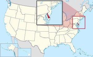 Estado de Delaware (DE), Estados Unidos de América