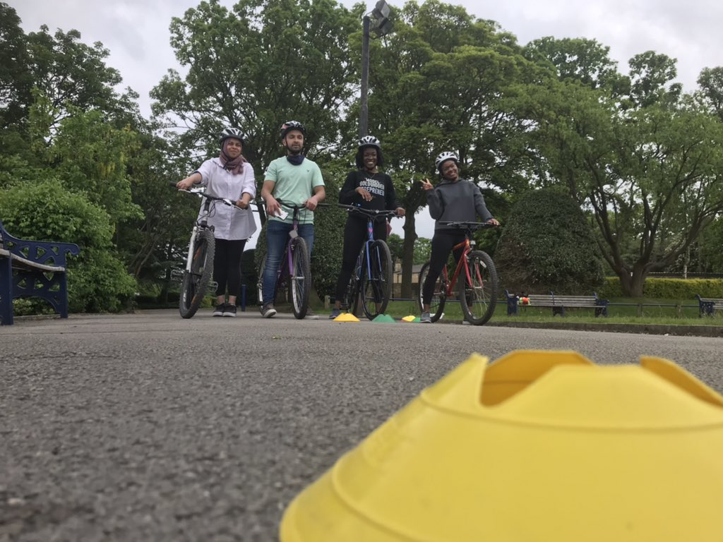 RT @mmchurchbfd: Adults learn to at ride lister park with qualified instructors, helping more people to choose to travelby bike. Learning to ride for the first time, keen toget back on a bike having not cycled in years orlooking develop skills and confidence @CityConnect1 for further info 🚴