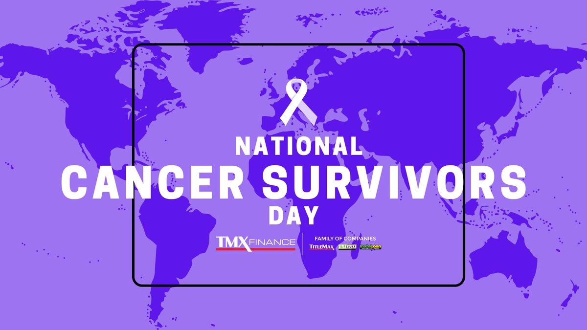 Today, we celebrate life after cancer. #NationalCancerSurvivorsDay https://t.co/VAt7d0scUh