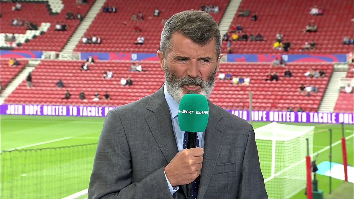 Roy Keane being Roy Keane. Absolutely savage and I'm here for it 😂  https://t.co/Vcv84B06mZ