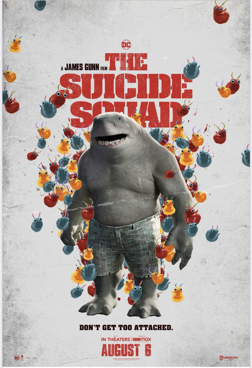 This is the one I'm in with the Sharknado universe 🤣🤣🤣 💜 @JamesGunn xx