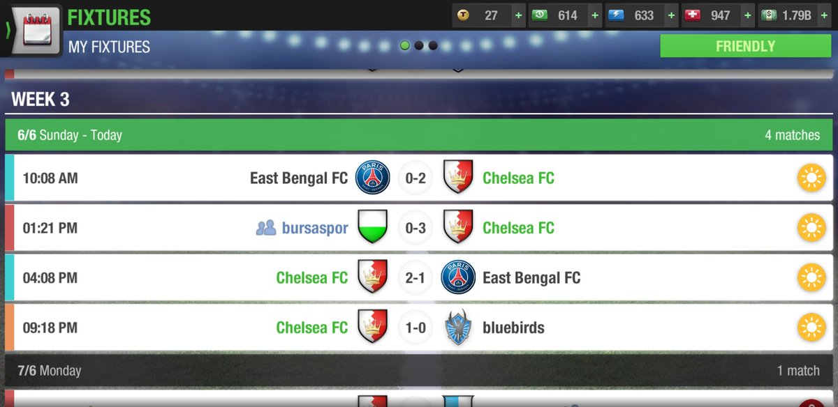 @topeleven today's fixture game amazing .. https://t.co/ENVC7kkuO2
