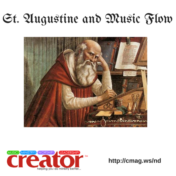 RT @purposefulact: St. Augustine and #Music Flow https://t.co/D6vOPIczqh #worship https://t.co/5ucMVZHqQE