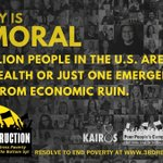 Image for the Tweet beginning: On #MoralMonday 6/7, our #PoorPeoplesCampaign