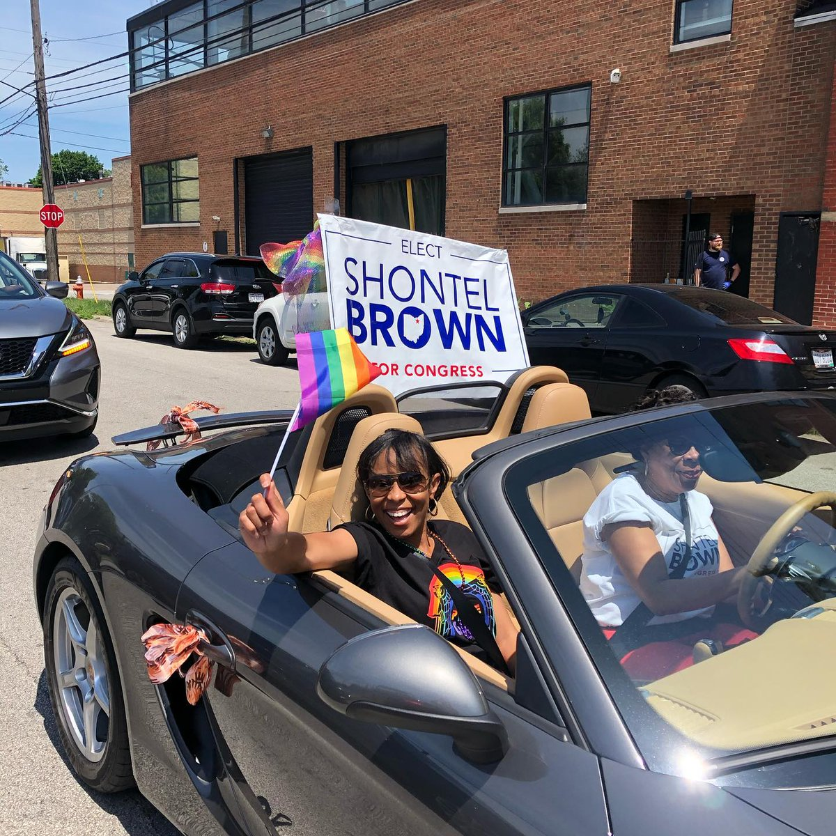 Thank you for allowing me to take part in this weekends PRIDE parade 🏳️🌈 Cleveland! Grateful to be surrounded by so many amazing people! #jointhejourney #clevelandpride https://t.co/s2rPfH7Y64