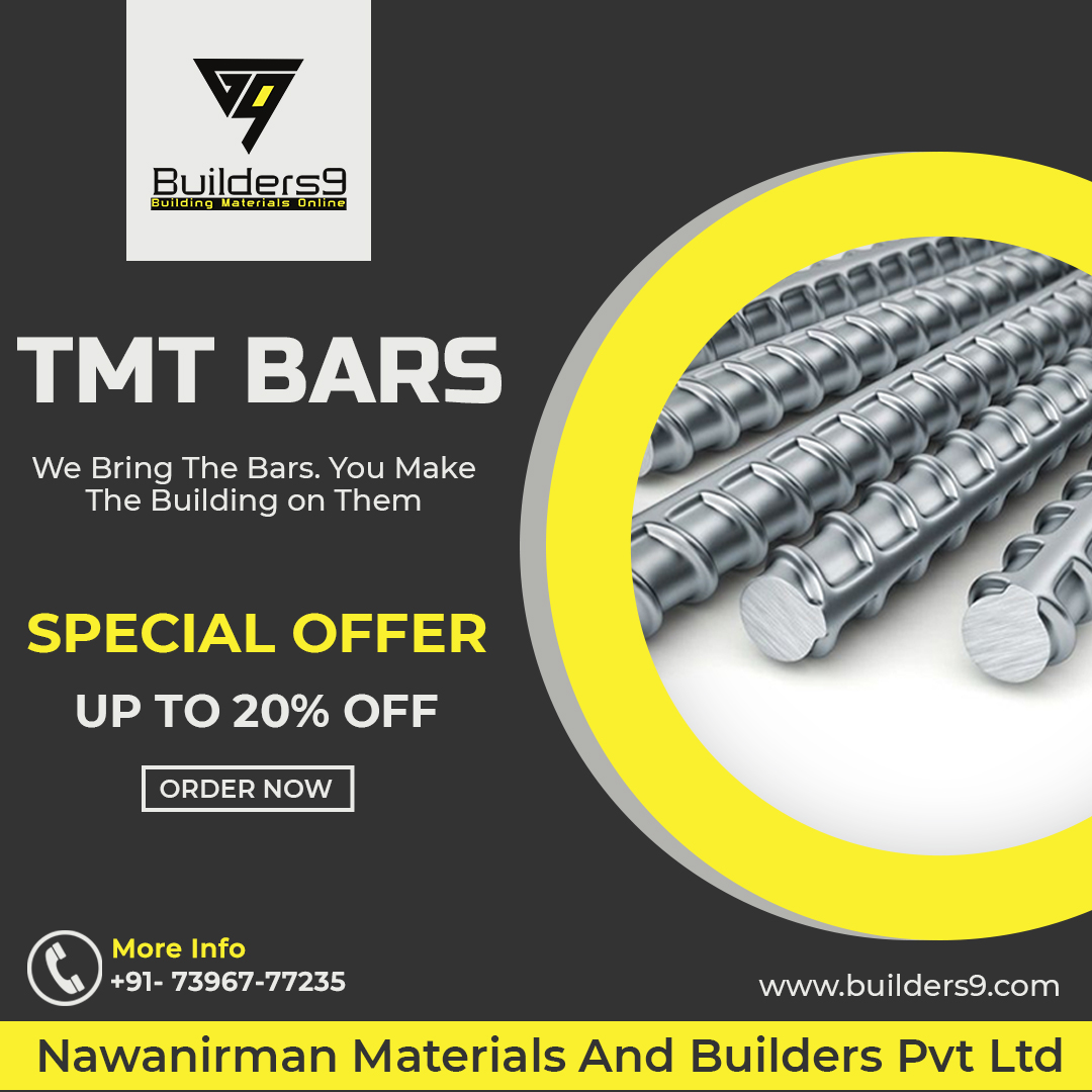 Don't Miss it! Special offer on TMT Steel Bars. Save up to 20% on any brand with free shipping.   Offer valid till this weekend. Order: https://t.co/r6NlpDXMMO or Call Now: 73967 77235  #steel #steelbrands #offer #tmtsteelbars #sale #TMTSteel #TMTBars #SteelBars #SteelPrice https://t.co/1PxppEPhJz